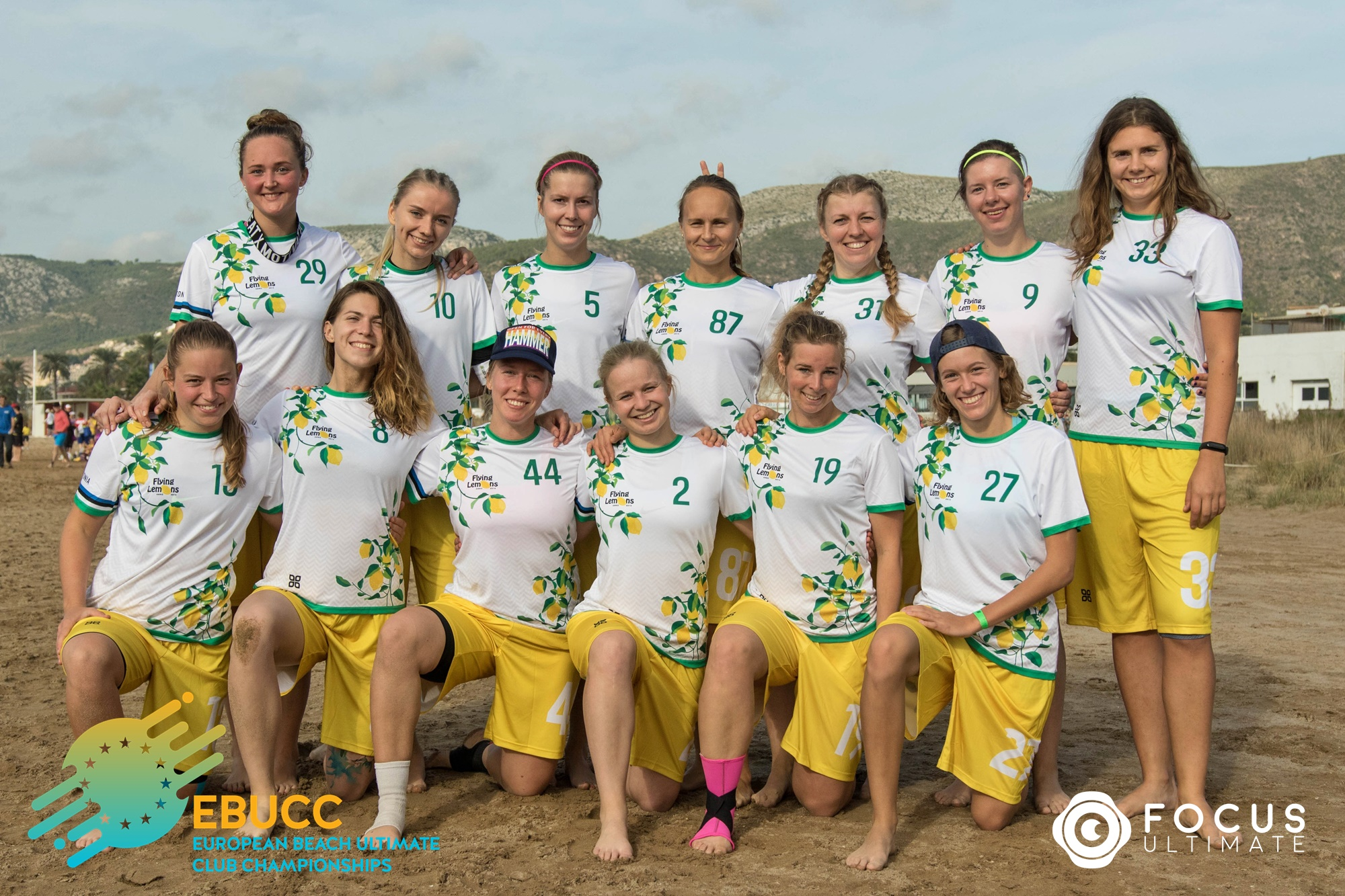 Team picture of Flying Lemons Women