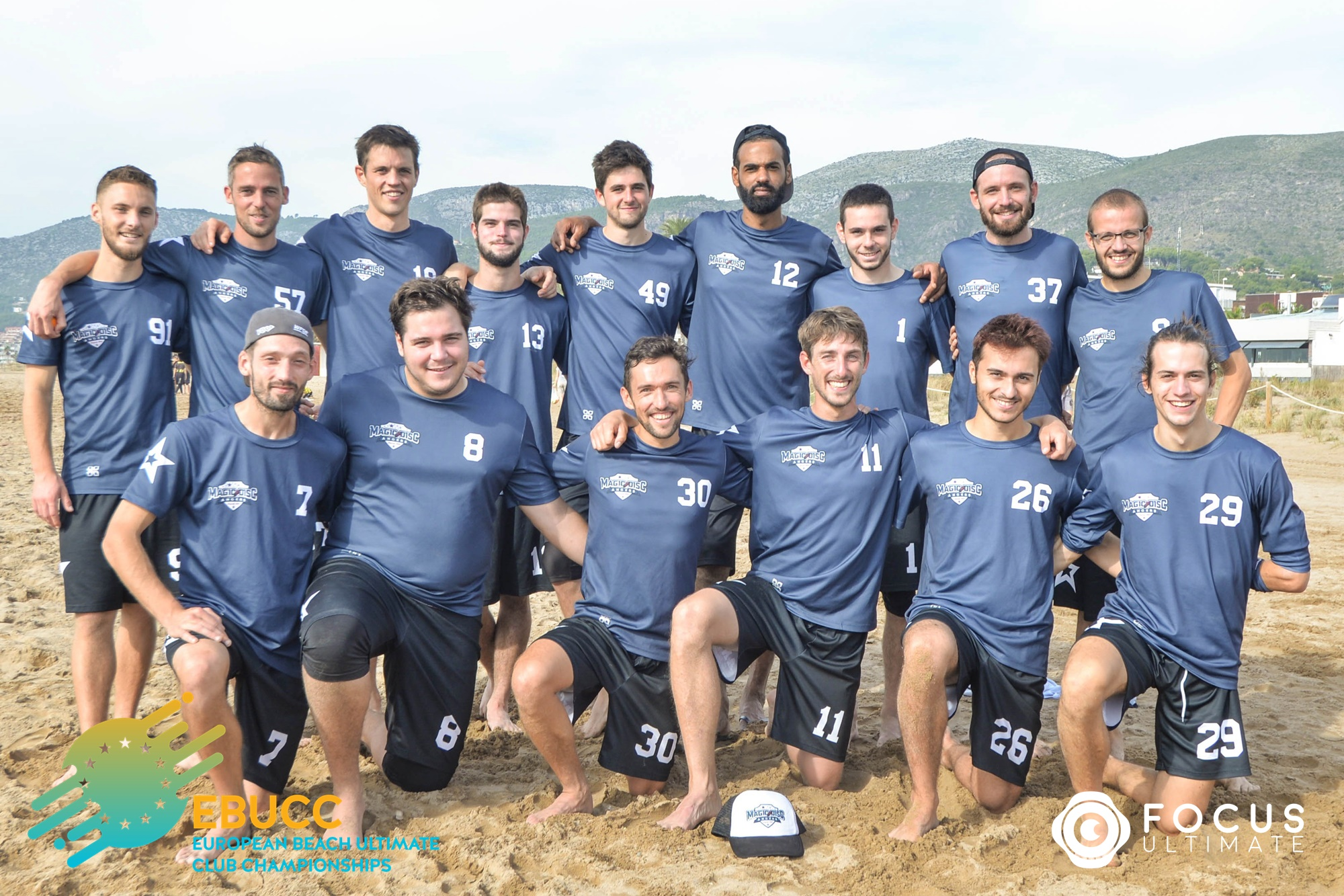 Team picture of Magic Disc Angers Men